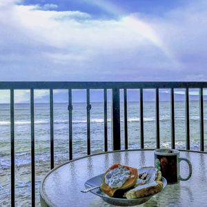 Photo for Oceanfront - 2 BR Corner Unit Maui Sands - 10 Feet from Water!