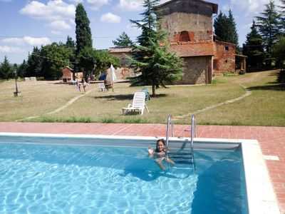 Photo for Bracciano Apartment, Sleeps 6 with Pool and Free WiFi