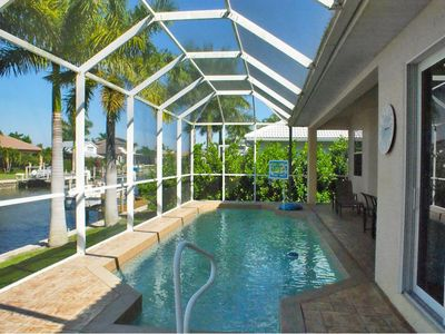 Photo for Spacious Pool Home just Steps from the Beach