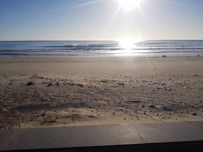 Photo for Townhouse is rented beachfront in Oropesa del Mar, Castellon ,