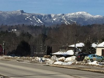 Mt. Mansfield from Mountain Road