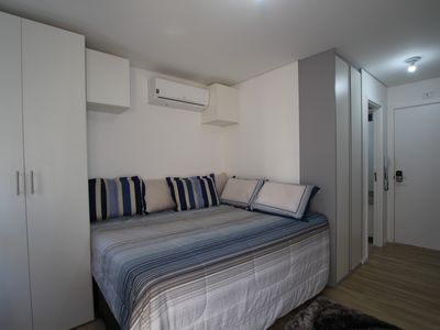 Photo for Apartment 756 m from the center of São Paulo with Lift, Air conditioning, Pool (1007531)