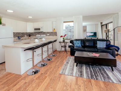 Photo for Newly Renovated Four Paddle Condo, Close Walk to Beaches, Free Parking!