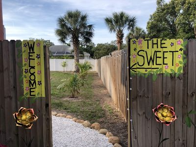 """Just through the gate to your """"Sweet"""""""