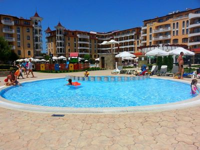 Photo for Royal Sun - Family apartment in Royal Sun Complex - Sunny Beach