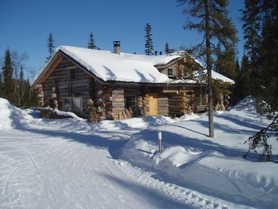 Photo for 4BR Cabin Vacation Rental in Luosto, Sodankyla