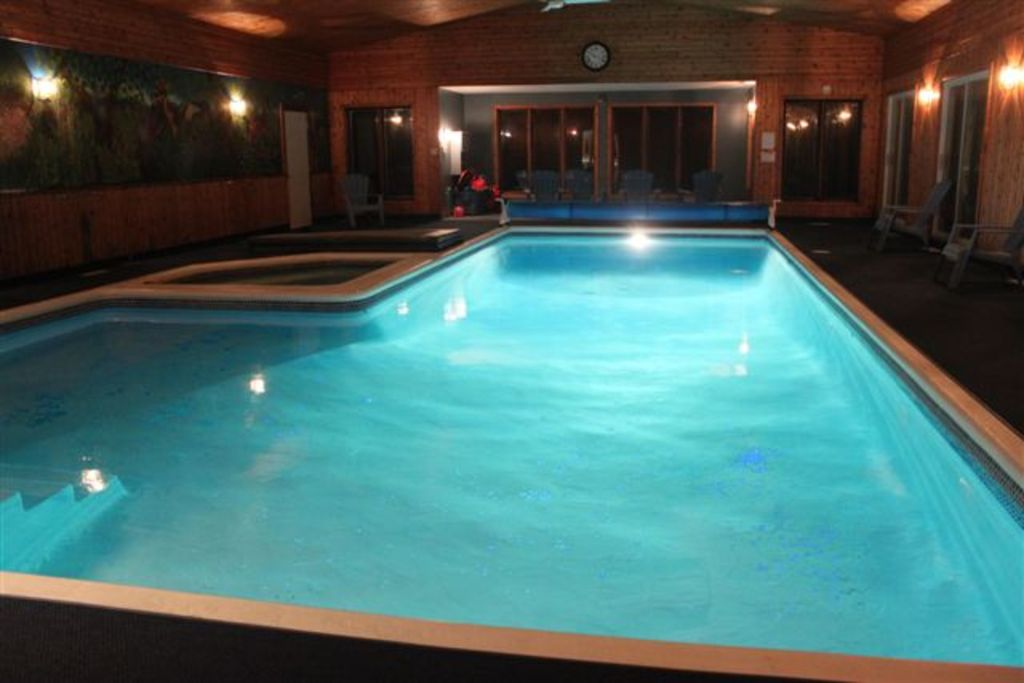 cottage with largest private indoor pool in canada sleeps 40 williamstown ontario