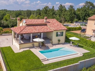 Photo for Modern house with pool and beautiful landscaped environment in a quiet location