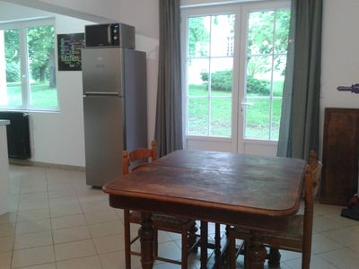 Photo for Cottage 2-4 pers with terrace and patio - Château Marith (Pool, games ...)