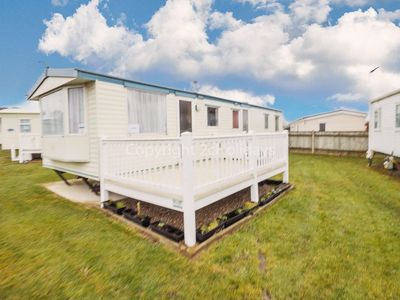 Photo for 8 berth caravan for hire with decking at Cherry tree park Norfolk ref 70717