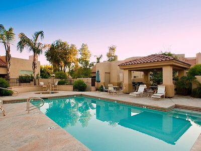 Photo for WINTER OFFER  Arroyo Madera 120 2 BR Townhouse/ COM Pool/ Jacuzzi/ Scottsdale