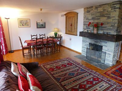 Photo for Apartment in the center of Crans-Montana with Lift, Parking, Internet, Balcony (46405)