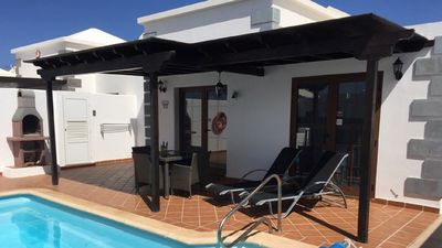 Photo for Superior Family Villa Parque del Rey 2 bed1 bathroom Private heated pool parking