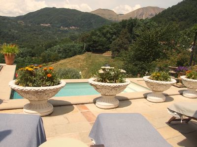 View from Plunge Pool Terrace