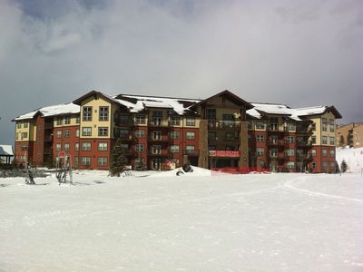 Photo for Ski-in / Ski-out Condo.  3 Bed / 3 Bath! Slope Side!