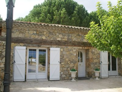 Photo for Lovely villa for 4 people with private pool 30 minutes from Sainte-Maxime.