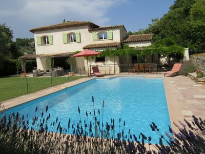 Photo for Lovely Villa in Valbonne with Swimming Pool