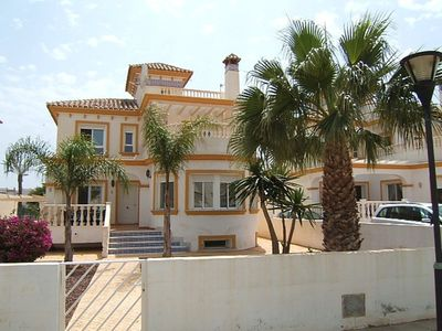Photo for Detached villa 75m from the beach in the beaches of Vera