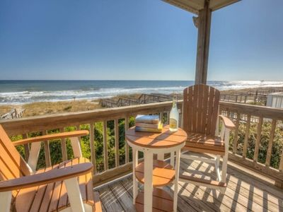 Photo for Spacious Oceanfront House, Dog Friendly, Ocean Front, Private Beach Access!