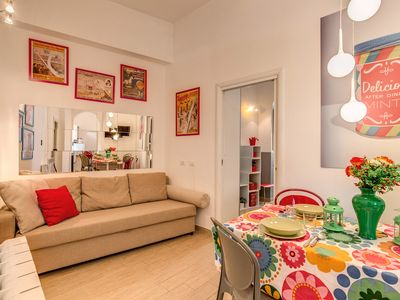 Photo for Comfortable and central apartment in Campo de 'Fiori!