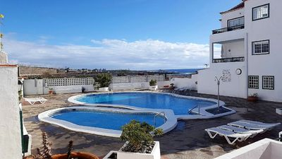 Photo for SPECIAL PRICE !!! APARTMENT WITH LARGE TERRACE, POOL, WIFI AND PARKING