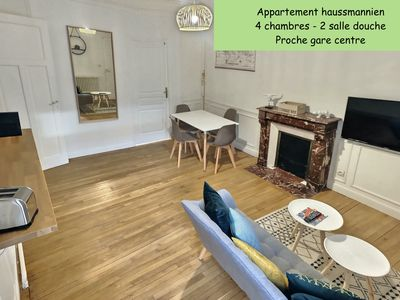 Photo for 4BR Apartment Vacation Rental in Reims, Marne