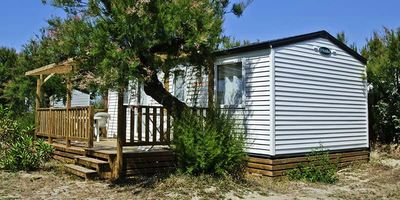 Photo for Camping Le Clos du Rhone **** - Mobile home 4 Rooms 6 People