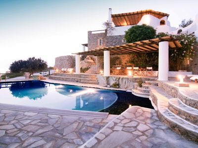 Photo for Villa Anerousses - Mykonian Traditional House