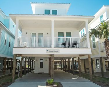 Photo for Coconut Cottage|East Point Cottages|13 cottages|Gulf Shores|Across the street from the beach |Pool