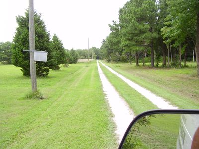 Even a Secluded Driveway 5 MPH please 1/4 mile to County Road