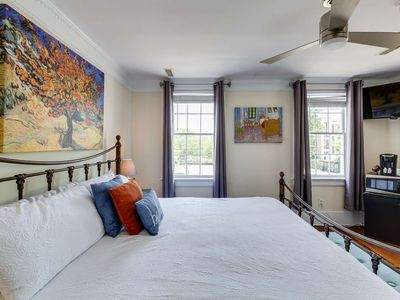 Photo for Beautiful Suite with Parking in Downtown Charleston