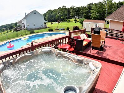 Photo for ST - Very spacious - Hot Tub/ In-Ground Swimming pool/Game room!