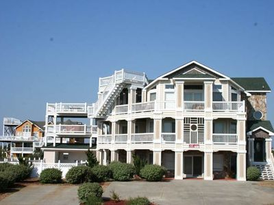 Photo for #481: Reduced Rates! Partial OCEANVIEW in Corolla w/HtdPool, HotTub, Elev, RecRm & Thtre