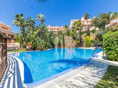 Photo for El Angel Apartment, Sleeps 4 with Pool and Air Con