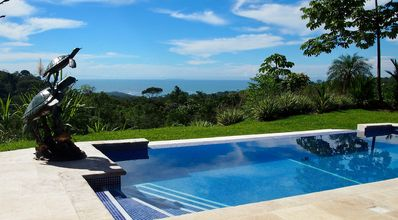 Photo for Brand New House with Infinity Pool, Panoramic View of Whales Tail and Jungle