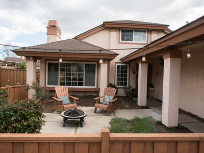 Photo for Quiet 3bd/2ba with view, across the street from park