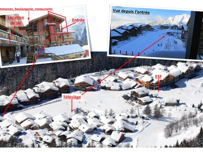 Photo for At the foot of the slopes, cozy duplex for 10 pers (3ch)