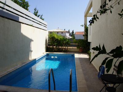 Photo for Villa with swimming pool 900 mt from the beach.Central heating & two fireplaces
