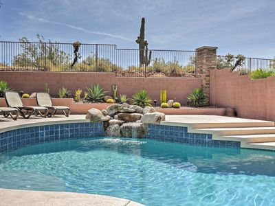 Photo for House w/Private Pool - 10 Mins from Lake Pleasant