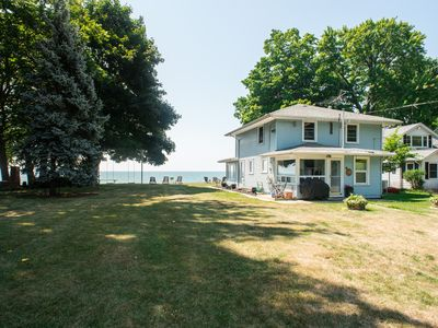 Photo for Lake front escape  -  a quiet lake front house with easy access to the beach
