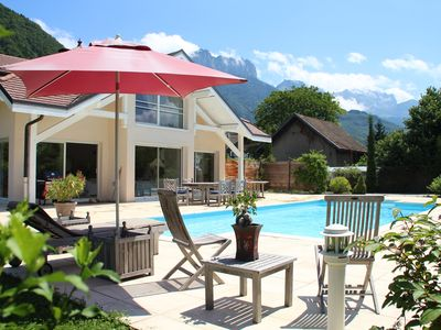 Photo for Sweet dream 4 stars at the edge of Lake Annecy Haute Savoie