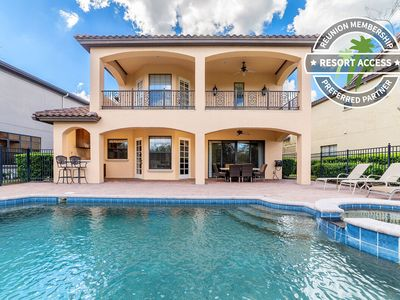 Photo for Gathering Elegance   Luxury Continental Style Home with Large Pool Deck