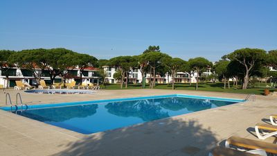 Photo for Luxury 2 bedroom apartment - super-fast WiFi and Sky TV in 3 pool gated complex