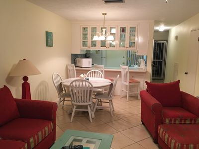 "Photo for Enjoy some ""Quiet Time"" in a  Cozy Beachside 2BR Townhome Steps from the Beach!"