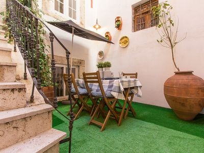 Photo for In the middle of Bairro Alto area with amazing terrace apartment