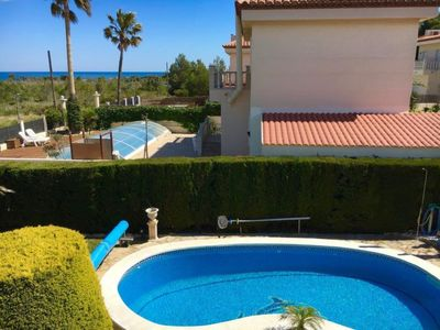 Photo for 2 bedroom Villa, sleeps 8 in Las Tres Cales with Pool and WiFi