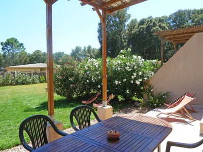 Photo for F3 quiet with 2 bathrooms / WC, large garden, air conditioning, Wifi in Porto-Vecchio