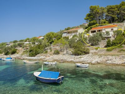 Photo for Holiday house Villa Bistrana  - Cove Tankaraca (Vela Luka), Island Korcula, Croatia