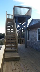 New deck and crow's nest