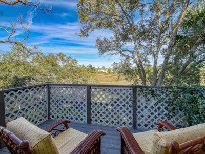 Photo for Marsh Treehouse View home, close to downtown and beach, Fire pit - FREE FUN attractions each day!